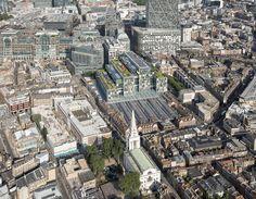 Bishops Square Development at Spitalfields, London 2001-2005 | © Foster + Partners