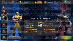 Marvel Contest of Champions Hack is working version of tool for Android & iOS. Here you can use online hack and generate unlimited resources.