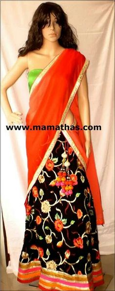 M Sari, My Style, Fashion, Saree, Moda, La Mode, Fasion, Fashion Models, Trendy Fashion