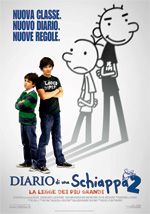 Diario di una schiappa 2. Un film di David Bowers. Con Zachary Gordon, Devon Bostick, Rachael Harris, Steve Zahn, Peyton R. List.  Titolo originale Diary of a Wimpy Kid: Rodrick Rules. Commedia, durata 99 min. - USA 2011
