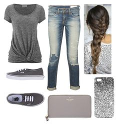"""""""When sky's are grey"""" by parker1126 on Polyvore featuring maurices, rag & bone, Vans, Topshop and Kate Spade"""