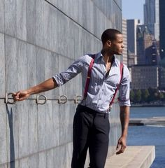 If you wear the suspenders on a standard basis, you can check out the different thickness of the suspenders. Suspenders have existed since the early Black suspenders are popular due to their flexible neutrality. Suspenders Outfit, Black Suspenders, Sharp Dressed Man, Well Dressed Men, Fashion Moda, Mens Fashion, Stylish Men, Men Casual, Oktoberfest Outfit
