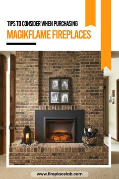 If you are looking for a fireplace without all of the hassle and work, you should take a look at the Magikflame Electric Fireplace. Here read our blog and find out the best Magikflame Electric Fireplace💯 along with buyer's guide that will assist you in your choice. 😉 Realistic Electric Fireplace, Best Electric Fireplace, Faux Fireplace, Fireplace Inserts, White Mantel, Wood Mantels, Real Fire, Canned Heat, White Wood
