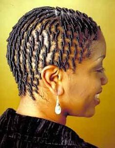 Comb Twist Hairstyles for African American Black Women Short Locs Hairstyles, Braids For Short Hair, African Braids Hairstyles, Black Hairstyles, Natural Hairstyles, Black Braids, Natural Hair Short Cuts, Natural Hair Twists, Natural Hair Styles For Black Women