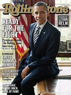President Obama Covers Rolling Stone