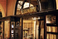 afternoon at the Librairie, Paris