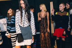 The Best Behind-the-Scenes Snaps From New York Fashion Week Spring 2017 - Vogue