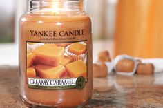 Creamy Caramel - Yankee Candles UK have created the delicious smell of creamy caramel without any of the guilt