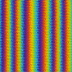 Dark Wavy Rainbow