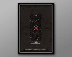 2001 A Space Odyssey  Minimalist Alternative Movie by TheGeekerie