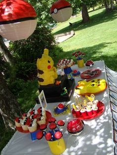 Pokemon Birthday Party Ideas | Photo 9 of 21 | Catch My Party