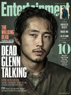 The Walking Dead: Steven Yeun shares inside story of Glenn's brutal death | EW.com