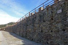 Adarve bajo de las murallas de Buitrago de Lozoya