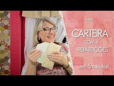 Carteira 4 Repartições COM MOLDE | Dica de Sexta (Tutorial Patchwork) - YouTube