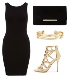 """""""Set 14"""" by silvada-comi ❤ liked on Polyvore featuring Sergio Rossi, Dune and Stella & Dot"""
