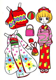 Vintage Japanese Coloring Book 13 - Mama Mia - Álbumes web de Picasa