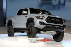 2017 Toyota Tacoma TRD gets unveiled at Chicago Auto Show – TechMalak