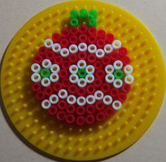 Christmas bauble perler beads