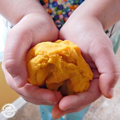 Lemon Essential Oil Playdough