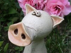 Das Schwein Rüssel von Keramixx ,   Atelier für Kunst & Keramik auf DaWanda.com