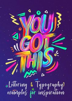 34 remarkable handmade lettering and typography designs . - 34 remarkable hand-lettering and typography designs … - Graphic Design Trends, Graphic Design Posters, Graphic Design Typography, Lettering Design, Graphic Design Inspiration, Typo Design, Brush Lettering, Creative Typography, Typography Quotes