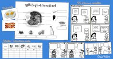 Questions What's your name ? Where do you live ? How many brothers and sisters have you got ? Have you got a pet ? English Breakfast, Cycle 3, Diagram, Teaching, Activities, Conversation, School, Esl, Mini