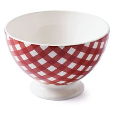 At Home with Marieke Bowl Livia red 19,5cm