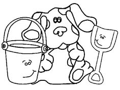 clue board game coloring pages   Blues Clues 19 coloring page - Free Printable Coloring ...