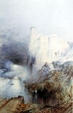 John Ruskin, Amboise - Date: 1841 Technique: Watercolour over pencil, 44 x 28.5 cm