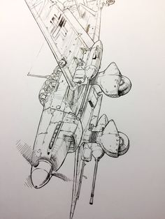 Airplane Drawing, Airplane Art, Photo Avion, Military Drawings, Hand Sketch, Aircraft Pictures, Aviation Art, Model Airplanes, Military Art