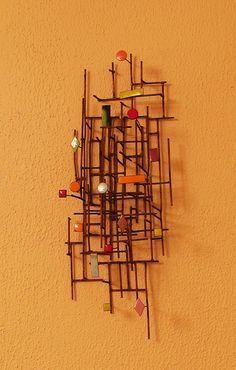 Metal Wall sculpture,