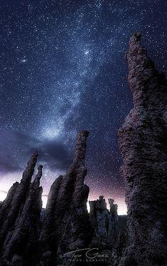 Milky Way, Mono Lake, California