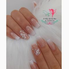 Leave everything in my hands and let yourself be wrapped with our magic only here for appointments at Go ahead . Neutral Nail Art, Boho Throw Pillows, Baby Boomer, Go Ahead, Nail Trends, Nail Arts, Pretty Nails, Nail Art Designs, Base