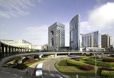 Morpheus Hotel at City of Dreams in Macau. Zaha Hadid Architects.