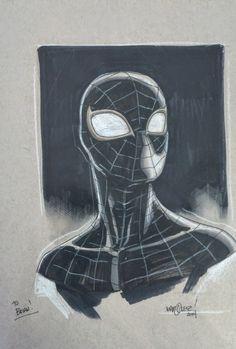 Mile Morales - Ultimate Spider-Man by David Marquez