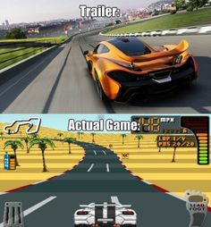 80% of the mobile racing games via /r/gaming