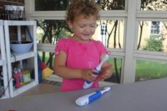 Play At Home Mom LLC toothbrush painting