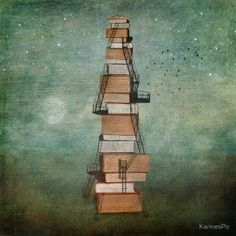 """""""Stairway To Knowledge"""" by KarinesPic"""