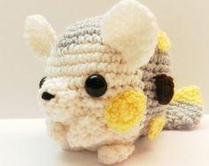 Crochet Popplio Inspired Chibi Pokemon by MissJennysCrochet