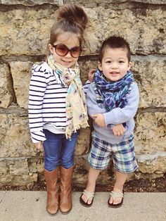 adorable kids! @Ashley Schieber this will be Mila and baby boy in a couple years! (if M grows more hair!) haha