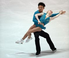 Natasha Purich and Mervin Tran, Pairs short at Nebelhorn Trophy 2013, Pairs costume inspiration for Sk8 Gr8 Designs