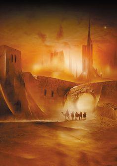 S-F i Fantasy: Okładki książek, Mroczna Wieża, Szkieletowa Załoga,