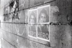 Alex Zanardi, another Hero on the wall
