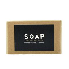 O'Douds Apothecary Lemon Lavender Scented Bar Soap