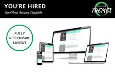 Responsive Resume Template For Wordpress  Zen Web Themes