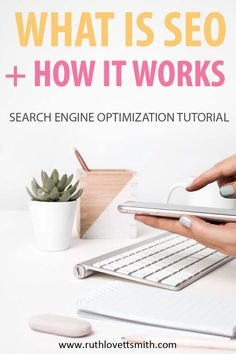This search engine optimization tutorial covers SEO and how it works. Learn about ways to improve SEO and increase traffic to your blog.
