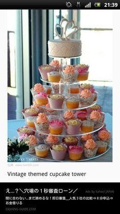 ウェディングケーキアイデア
