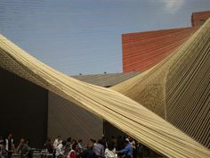Rope in architecture