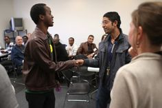 Refugees learn employment skills during a job readiness class held at the IRC in Tucson.
