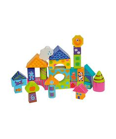 Take a look at this BoiKido: 30 Piece Building Blocks Set by Boikido on #zulily today!